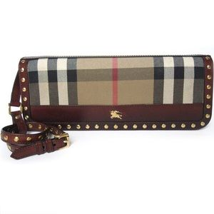 💯% Authentic Burberry Prorsum Willow Clutch